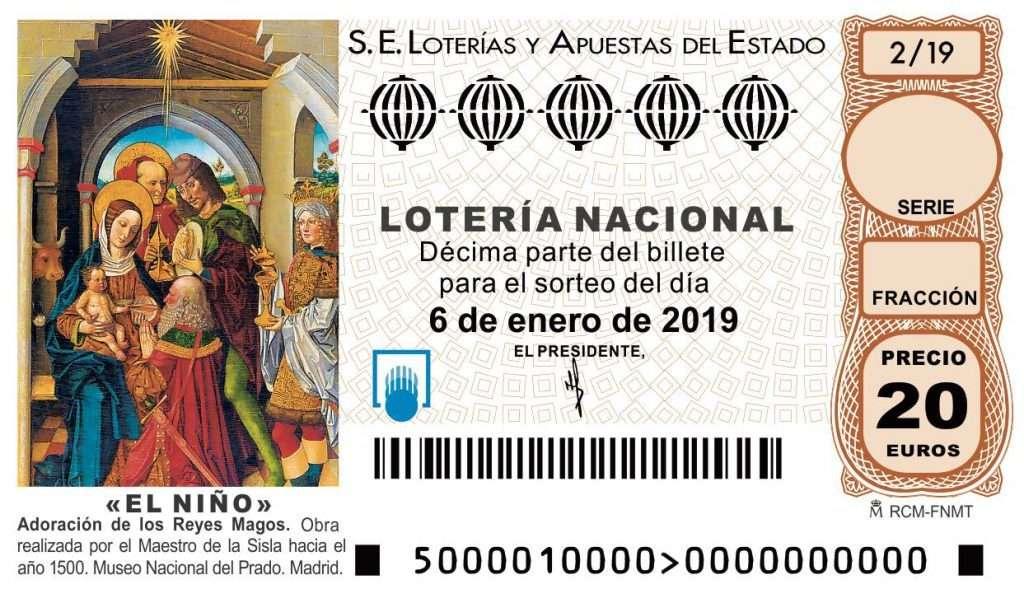 Lotería del niño - El Elefante de Arenal